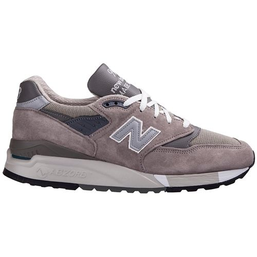 Mens New Balance M 998 GR Classic Running Shoe - null 13