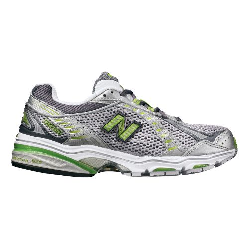 Womens New Balance 1223 Running Shoe - Silver/Green 10