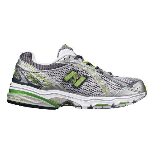Womens New Balance 1223 Running Shoe - Silver/Green 9.5