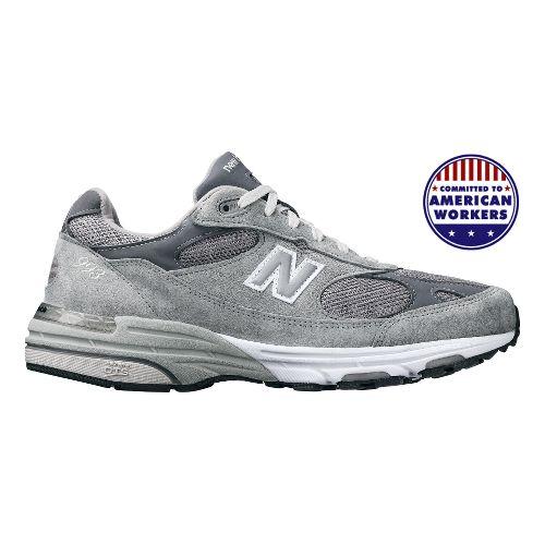 Womens New Balance 993 Running Shoe - Grey 12