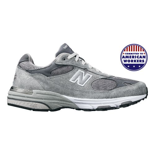 Womens New Balance 993 Running Shoe - Grey 13