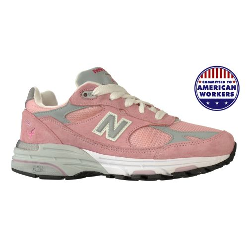 Womens New Balance 993 Running Shoe - Pink 10