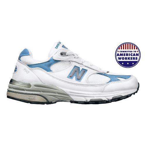 Womens New Balance 993 Running Shoe - White 7.5