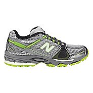 Womens New Balance 876 Trail Running Shoe - Grey/Green 6