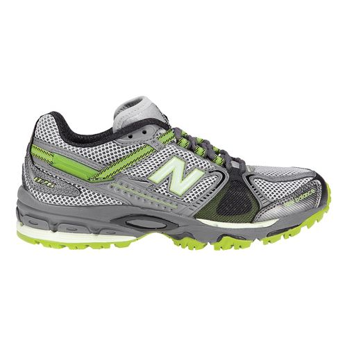 Womens New Balance 876 Trail Running Shoe - Grey/Green 10.5