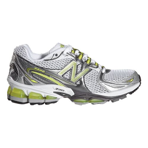 Womens New Balance 1226 Running Shoe - Green/Silver 6
