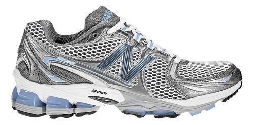 Womens New Balance 1226 Running Shoe - White/Blue 6