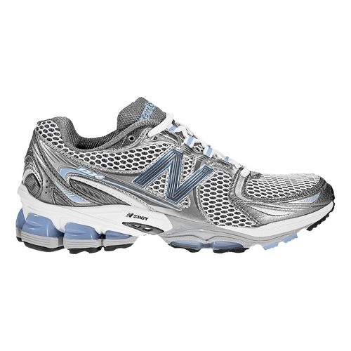 Womens New Balance 1226 Running Shoe - White/Blue 10.5
