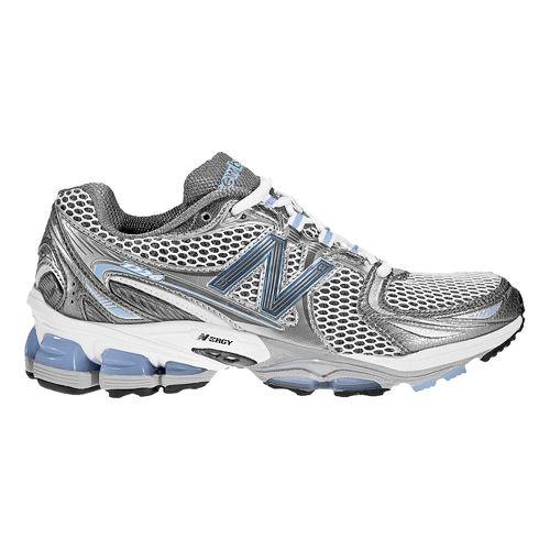 Womens New Balance 1226 Running Shoe - White/Blue 9
