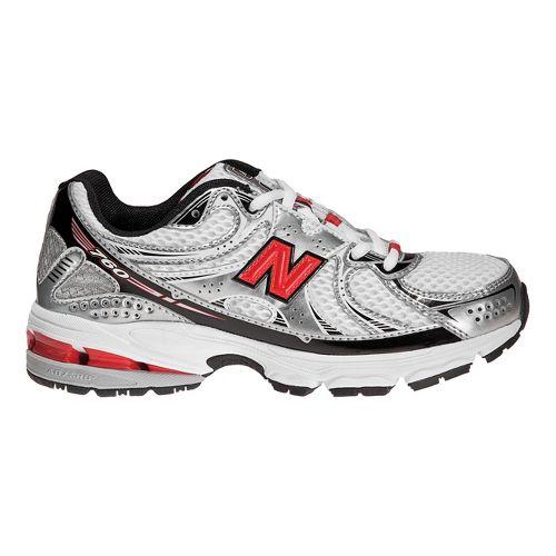 Kids New Balance 760 Running Shoe - White/Red 5.5