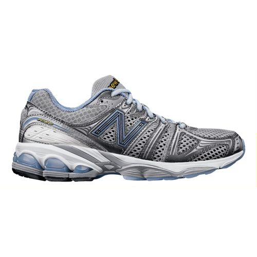 Womens New Balance 1080 Running Shoe - Grey/Purple 8.5