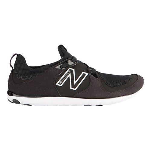 Womens New Balance Minimus 10 Life Casual Shoe - Black/White 7.5
