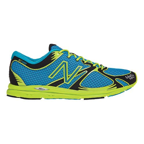 Mens New Balance 1400 Running Shoe - Blue/Green 4
