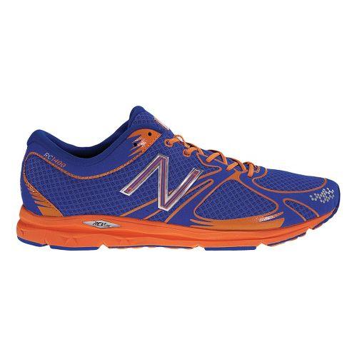 Mens New Balance 1400 Running Shoe - Blue/Orange 11
