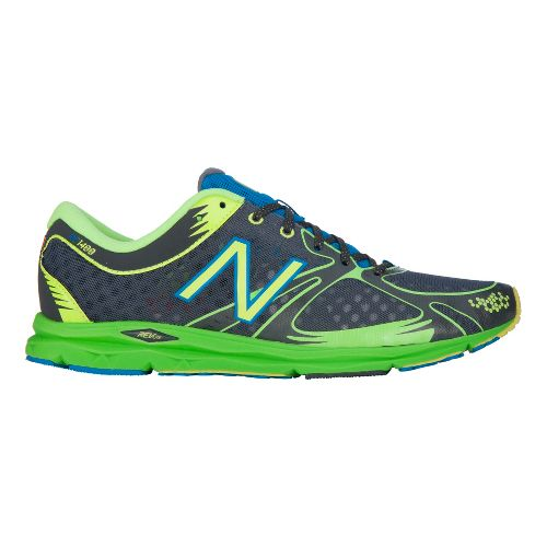 Mens New Balance 1400 Running Shoe - Grey/Green 4