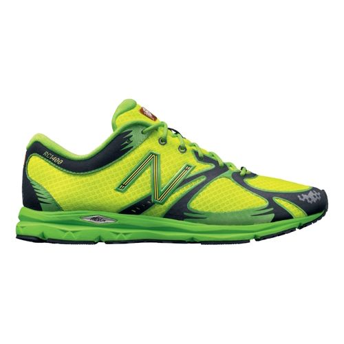 Mens New Balance 1400 Running Shoe - Yellow/Green 15