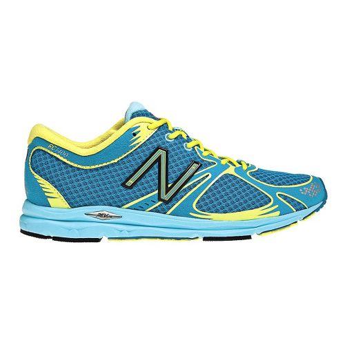 Womens New Balance 1400 Running Shoe - Blue/Green 10