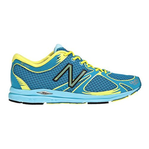 Womens New Balance 1400 Running Shoe - Blue/Green 12