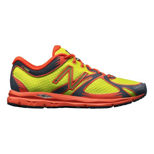 Womens New Balance 1400 Running Shoe - Hi-Viz Yellow 5