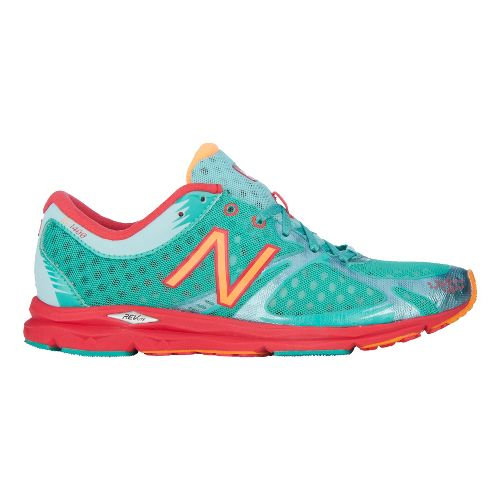 Womens New Balance 1400 Running Shoe - Pool Green 5