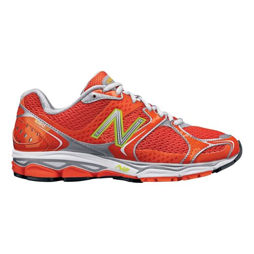 Womens New Balance 1080v2 Running Shoe - Orange 5
