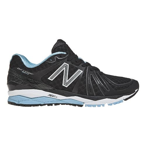 Womens New Balance 890v2 Running Shoe - Black/Blue 10.5