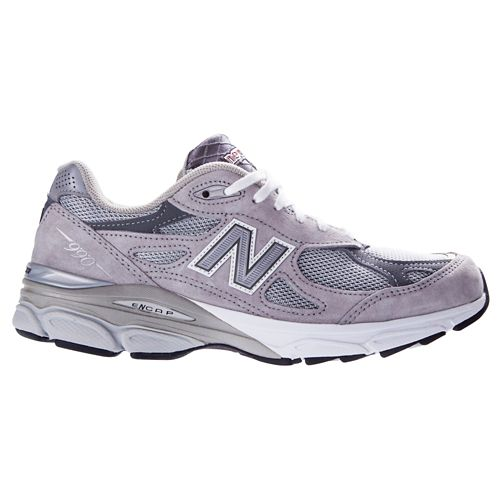 Mens New Balance 990v3 Running Shoe - Grey 13
