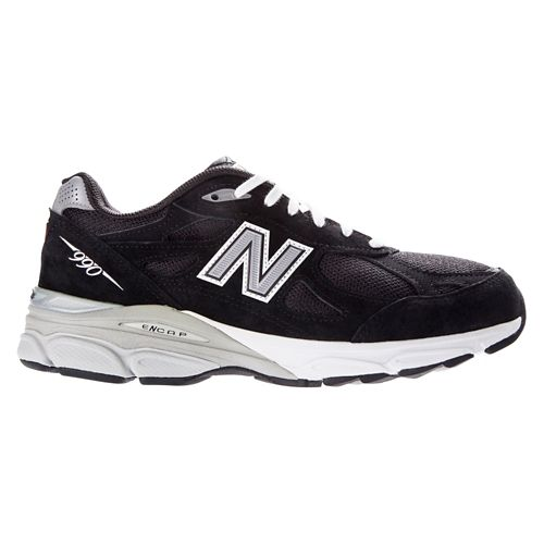 Womens New Balance 990v3 Running Shoe - Black 6