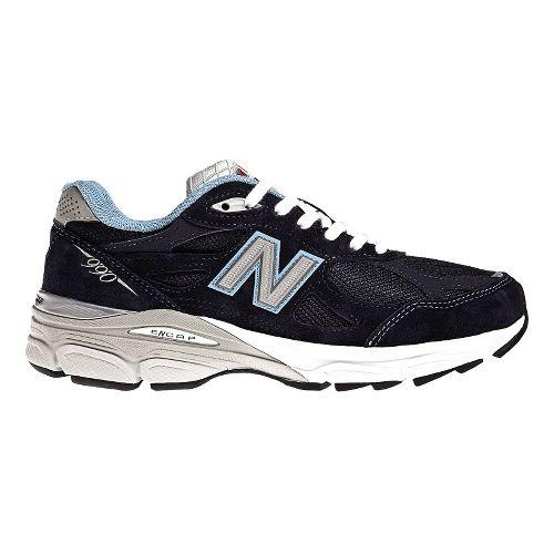 Womens New Balance 990v3 Running Shoe - Navy 13