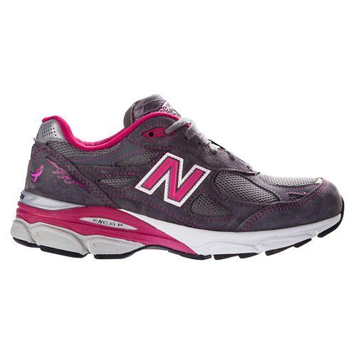 Womens New Balance 990v3 Running Shoe - Pink 7.5