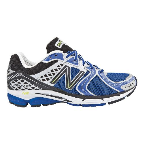 Mens New Balance 1260v2 Running Shoe - Blue 10