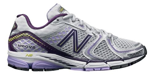 Womens New Balance 1260v2 Running Shoe - White/Lavenish 5