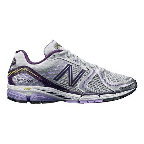 Womens New Balance 1260v2 Running Shoe - White/Lavenish 6