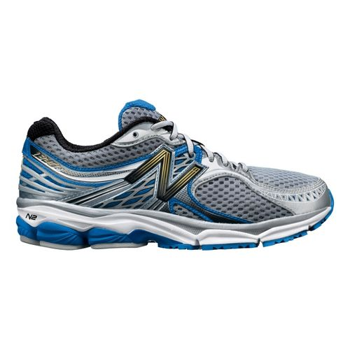 Mens New Balance 1340 Running Shoe - Silver/Blue 12
