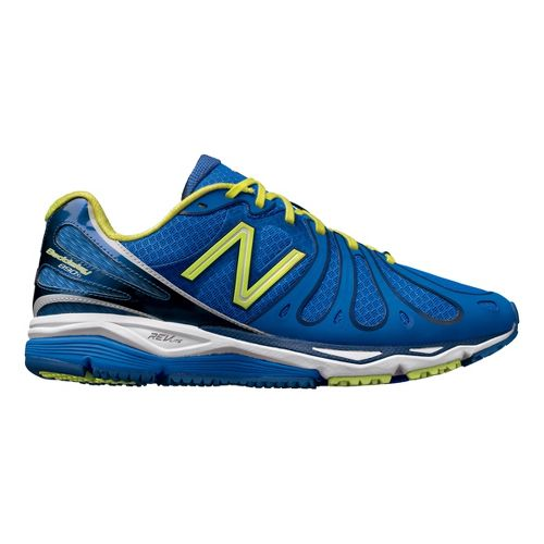 Mens New Balance 890v3 Running Shoe - Blue/Yellow 12.5