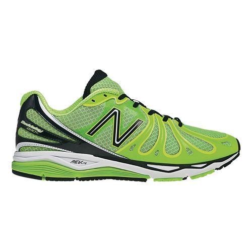 Mens New Balance 890v3 Running Shoe - Green/Yellow 14