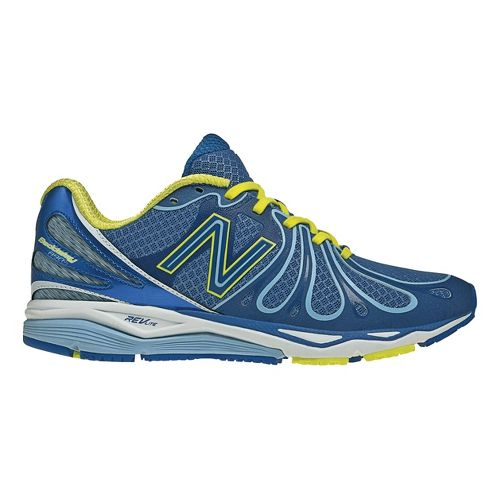 Womens New Balance 890v3 Running Shoe - Blue/Green 11.5