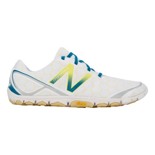 Mens New Balance Minimus 10v2 Running Shoe - White 12.5