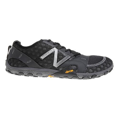 Mens New Balance Minimus 10v2 Trail Running Shoe - Black/Silver 7.5