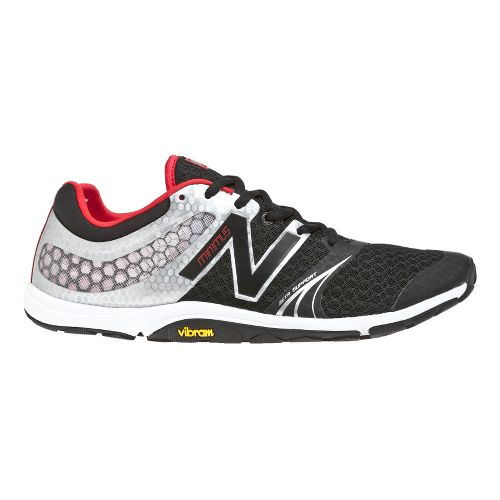 Mens New Balance Minimus 20v3 Trainer Cross Training Shoe - Black/Silver 7.5