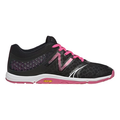 Womens New Balance Minimus 20v3 Trainer Cross Training Shoe - Black 10.5