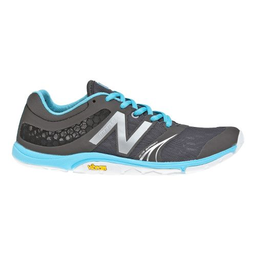 Womens New Balance Minimus 20v3 Trainer Cross Training Shoe - Grey/Blue 8.5