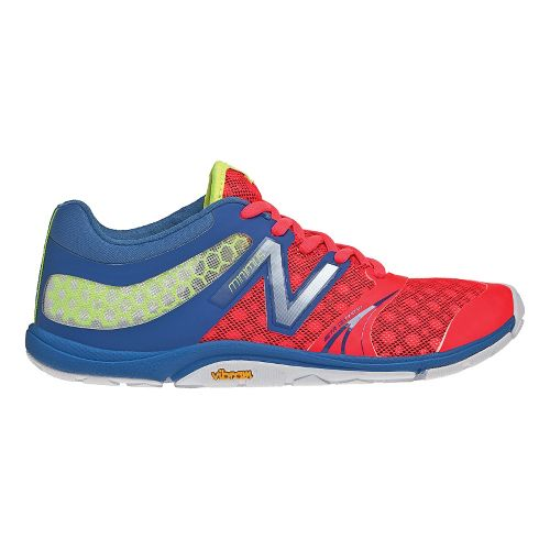 Womens New Balance Minimus 20v3 Trainer Cross Training Shoe - Pink/Blue 9.5