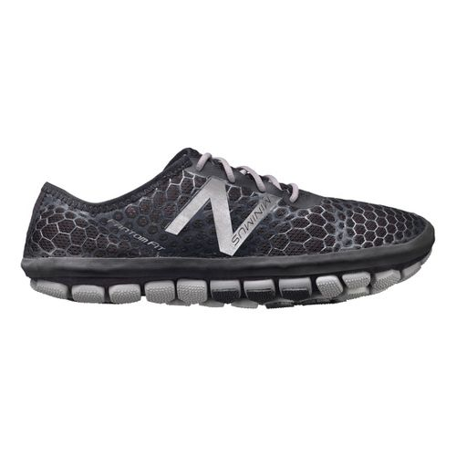 Mens New Balance Minimus Hi-Rez Running Shoe - Black 12.5
