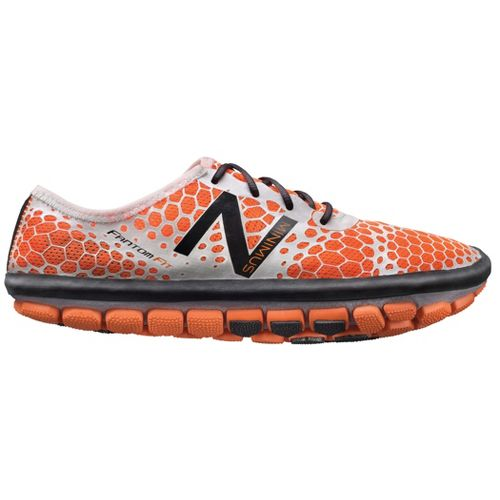 Mens New Balance Minimus Hi-Rez Running Shoe - Orange 10.5
