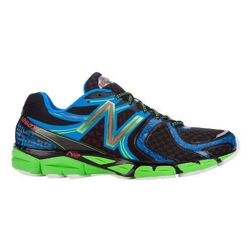 Mens New Balance 1260v3 Running Shoe - Blue/Green 7.5