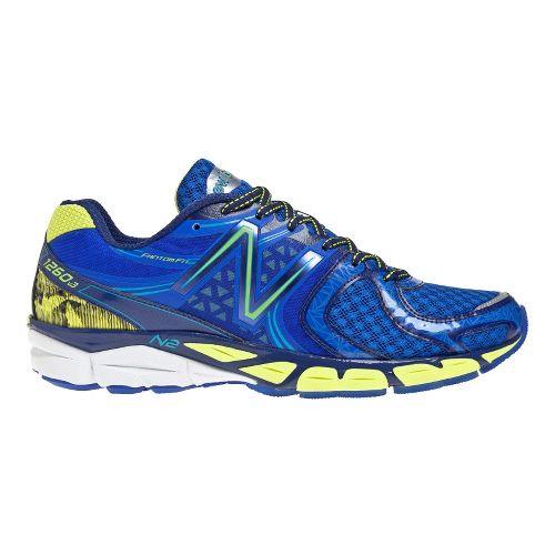 Mens New Balance 1260v3 Running Shoe - Blue/Yellow 8.5