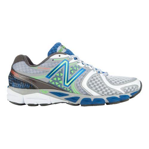 Mens New Balance 1260v3 Running Shoe - Silver/Blue 10.5