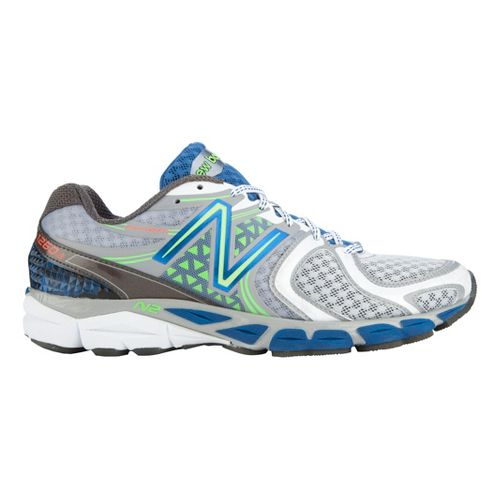 Mens New Balance 1260v3 Running Shoe - Silver/Blue 11.5