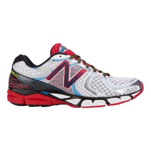 Mens New Balance 1260v3 Running Shoe - White/Red 12